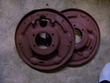 "9""FORD 11 1/32X21/4 BACKING PLATES FOR LATE BIG FORD ENDS"