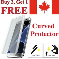 Premium Curved Edge Clear TPU Screen Protector for Samsung Galaxy S7 / Edge