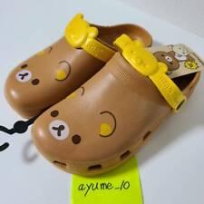 Rilakkuma Big Print Sandals(crocs) / Ladies' Size (S 8.6inch~9inch)san-X F/S NEW