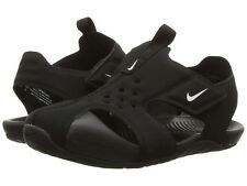 Nike Sunray Water Sandals/Sneakers Closed Toe  Black/White Little Boys Size 7