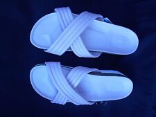 Next Women Size 8 Beige Slides Sandal New