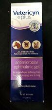 Vetericyn PLUS Antimicrobial Ophthalmic Eye Pet Gel 3 oz bottle