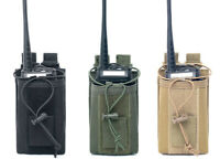 Outdoor Tactical Molle Radio Walkie Talkie Holder Bag Military Magazine Pouch