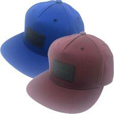 Coach Men's Flat Brim Strapback Hat Cap
