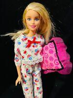 Doll Clothes-Blue Pencil Tips Print Pajamas fit Barbie-Homemade BP3