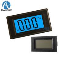 4-Wire 3 1/2 Digital Blue LCD AC 0-500V Volt Panel Meter Voltage Power Supply