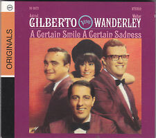 ASTRUD GILBERTO / WALTER WANDERLEY - a certain smile a certain sadness CD