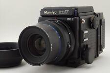 N.Mint Mamiya RZ67 Pro II, 120 Film Back Sekor Z 90mm W Lens, Hood fromJapan#r13