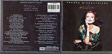 MILVA  CD fuori catalogo MADE IN GREECE Volpe d'amore STAMPA GRECA