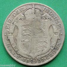 1922 George V Silver Half-Crown SNo22230