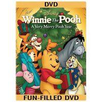 62 Disney DVD Lot: Winnie the Pooh - A Very Merry Pooh Year (DVD, 2013)