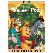 Winnie the Pooh - A Very Merry Pooh Year (DVD, 2013, Includes Digital Copy) NEW