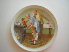 Edwin Knowles The Cookie Tasting 3rd plate Grandparents Series 1982 Joseph Csata