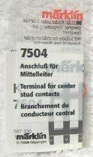 Marklin 7504 K rail middenleider - aansluiting volledig nieuw in verpakking