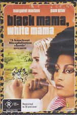 BLACK MAMA WHITE MAMA - Pam Grier, Margaret Markov, Sid Haig - DVD - NEW