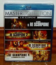 EL REY ESCORPION 1-4-COLECCION COMPLETA-4 BLU-RAY-CASTELLANO-SEALED-NUEVO-NEW-R2