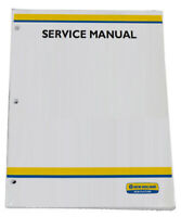 New Holland TT55 TT75 Tractor Service Repair Manual