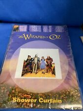 Wizard of Oz Shower Curtain Warner Store Exclusive 1999 Plastic