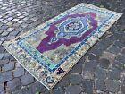 Wool rug, Bohemian rugs, Runner rug, Handmade rug, Turkish rug | 2,7 x 5,6 ft