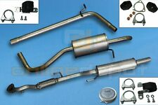 Full exhaust from CAT SEAT IBIZA IV 4 1.2i 12V 2005-2009
