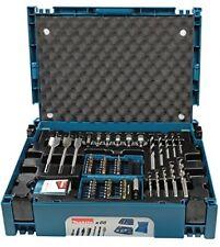 Makita Makpac Quality Drill Bit Set 66 Piece Driver Attachments Organizer Case