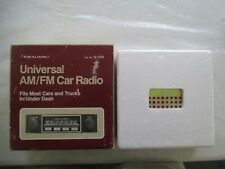 """Radio Shack Realistic Universal Am/Fm Car Radio / #12-1355"" New & Sealed"