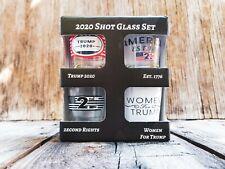 Trump 2020 American Shot Glass Gift Set.