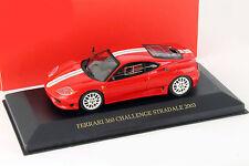 Ferrari 360 challenge stradale année 2003 rouge/blanc 1:43 IXO