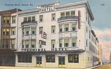 "*Pennsylvania Postcard-""The Terminal Hotel"" /Easton/ (U1-PA23)"