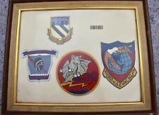 US Military Aviation Vietnam Patch Grouping 960th 961st 962nd AEW C SQ Airborne