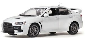 VIT29296L - Car Sportive Mitsubishi Lancer Evolution X Of Color White