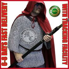 MEDIEVAL ALUMINIUM CHAINMAIL SHIRT COSTUME FOR SALE