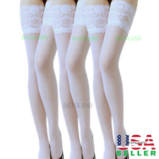 c35119240 New Lace Women Stockings Sheer Pantyhose Plus Size Socks Tights Nylon Hold  Up