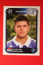 PANINI CHAMPIONS LEAGUE 2010/11 # 122 FC SCHALKE 04 HUNTELAAR BLACK BACK MINT!