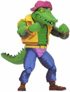 NECA TMNT Leatherhead Turtles In Time 7 Inch Scale Action Figure