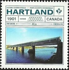 Canada # 3180a    HARTLAND HISTORIC COVERED BRIDGE   Brand New 2019 Stamp Issue