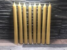 Natural 100 Pure Welsh Beeswax Candles