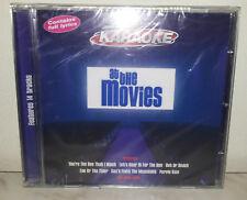CD KARAOKE - AT THE MOVIES - GREESE BRIDGET JONES FOOTLOOSE ROCKY - NUOVO NEW