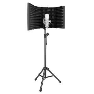 Neewer Pro Microphone Isolation Shield with Stand Kit for Sound Recording