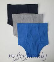 HANNA ANDERSSON Organic Unders Underwear Briefs Blue XS 80 90 18-24 mo 2T 3T NWT