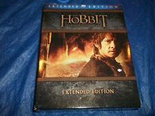 The Hobbit: The Motion Picture Trilogy (Blu-ray Disc, 2015, 9-Disc Set Extended)