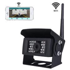KFZ Funk Wifi Rückfahrkamera 12V-24V LKW 28 IR LED Nachtsicht APP iPhone Android