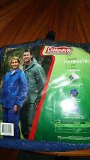 Coleman Aurora PVC Rainsuit Blue Size Medium Model #6004-2