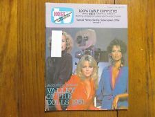 Oct.-1981 Pa. TV Host Mag(VALLEY  OF THE  DOLLS 1981/CAMILLA  SPARV/JEAN SIMMONS