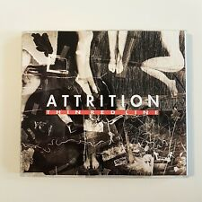 """ATTRITION : THIN RED LINE (12"""" EXTENDED MIX) ♦ CD MAXI ♦ Formed by Martin Bowes"""
