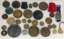 Collection of 30 Bronze & other Metal Medals - 81446