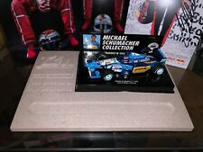 F1 1/43 Minichamps Benetton B195 Schumacher GP France T2M Marble Base #24