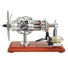 STARPOWER 16 Cylinder Hot Air Stirling Engine Motor Model Creative Motor Engine