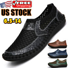 New listing Mens Causal Loafers Breathable Mesh Hiking Sports Shoes Outdoor Walking Sneakers