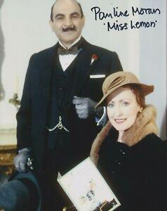 "Pauline Moran in person signed 10"" x 8"" photograph - Poirot - Miss Lemon - K465"